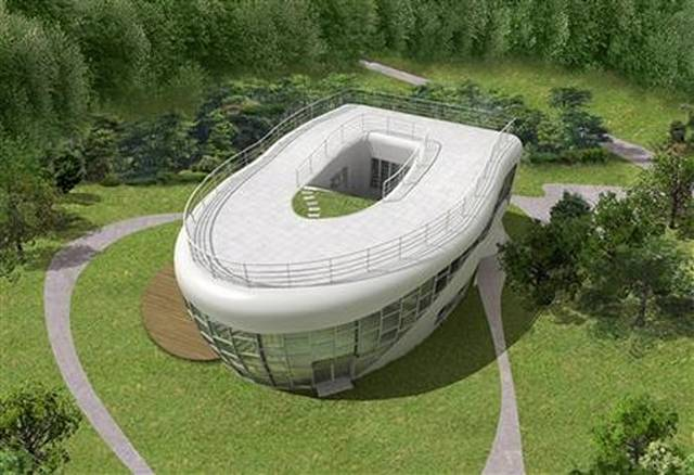 Toilet Shaped House1