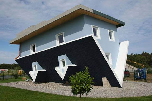 The Craziest Houses In The World The House Upside Down