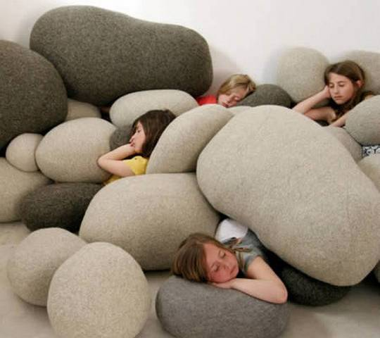 Rock Pillow