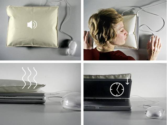 i Sleep Laptop Pillow