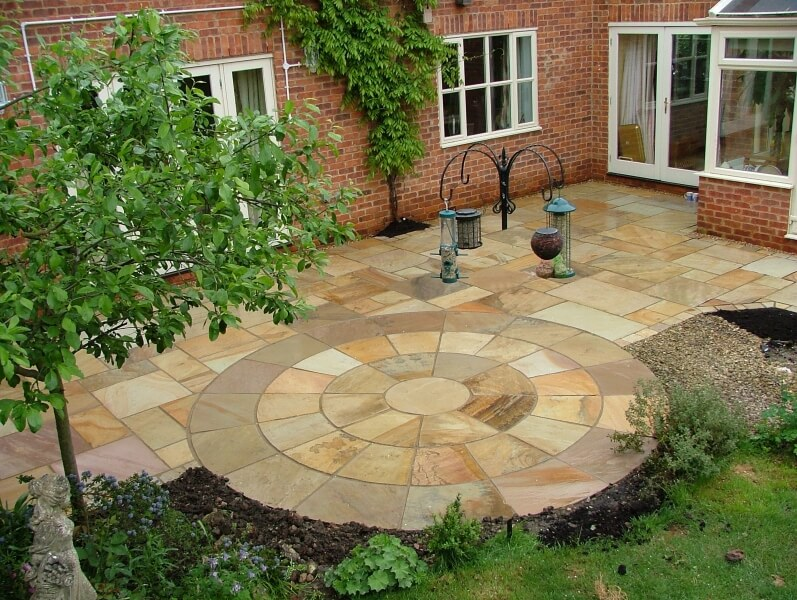 Patio Images Beauteous Of Garden Patio Designs Picture
