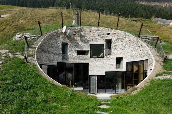 Swiss Underground House
