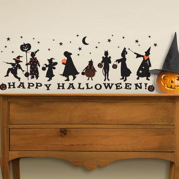 Halloween Wall Decoration Ideas : Home decoration halloween ideas