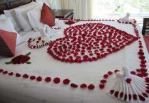 Wedding Night Bedroom Decoration Ideas