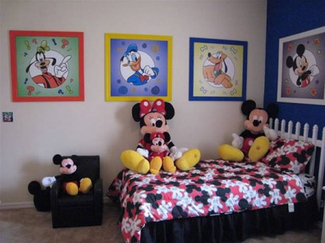 mickey mouse bedroom curtains disney room decor 16182