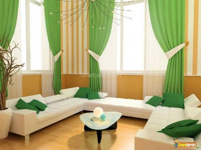 The Ideas Modern Curtain For Your Perfect Living Room4