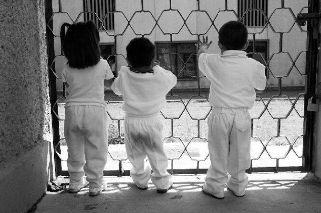 Children Living In A Mexican Prison1
