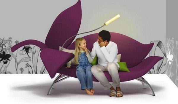 Modern-Floral-Sofa