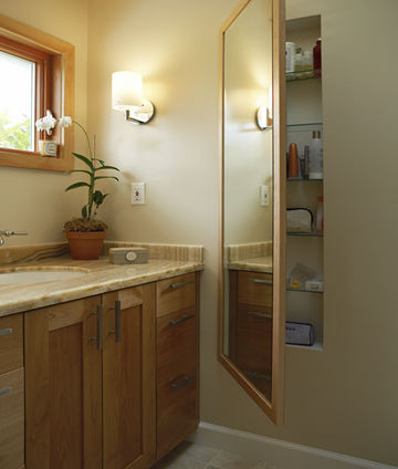 hidden bathroom wall cabinets