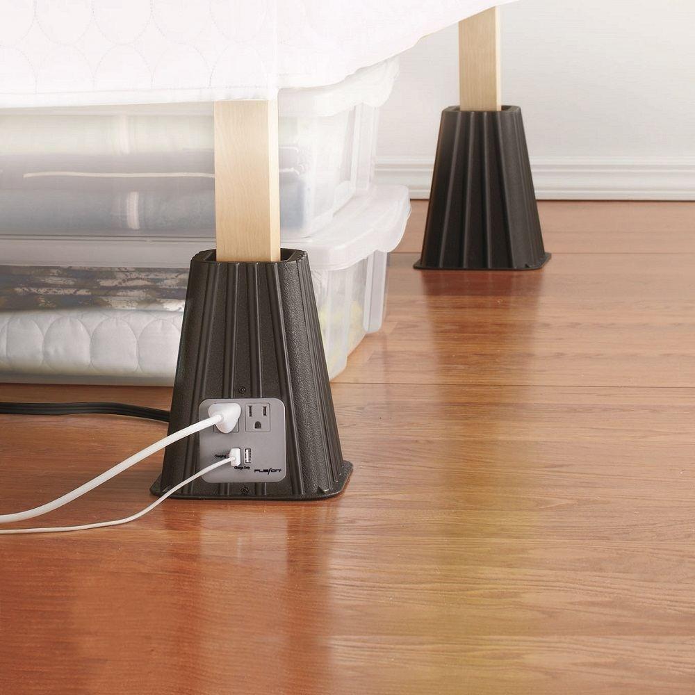 high-tech bed risers