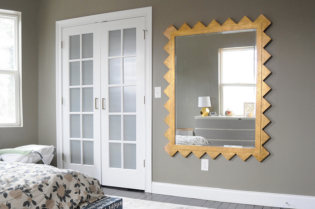 hanging some mirrors